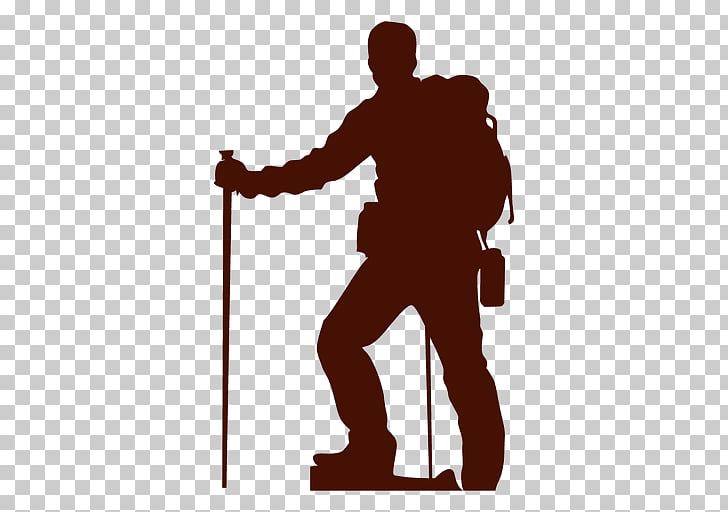 Hiking boot Silhouette , silhueta PNG clipart.