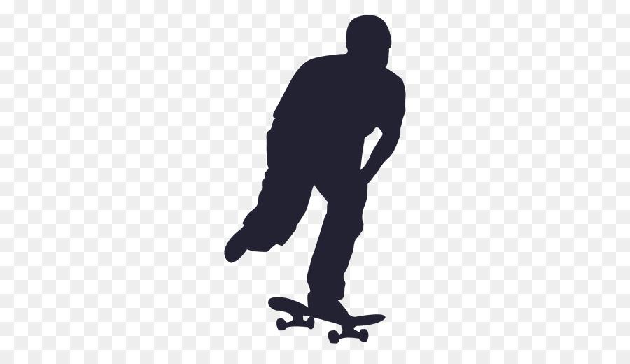 skate silhueta png clipart Skateboarding clipart.