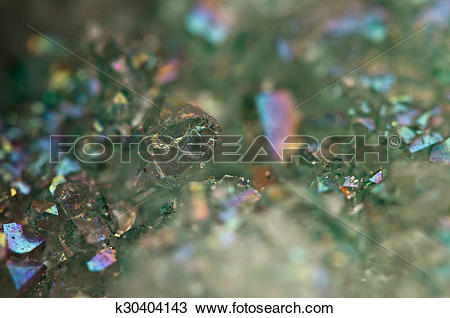 Stock Photo of crystals Agate SiO2 silicon dioxide. Macro.