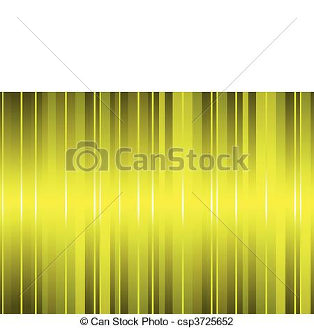 Vector Illustration of A gold silk curtain effect vector.