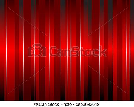 EPS Vectors of An abstract red silk effect curtain style.