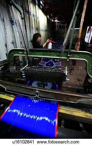 Stock Photography of Silk factory Hotan Xinjiang China u16102841.