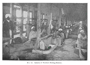 Cotton Gin and Silk Reeling.