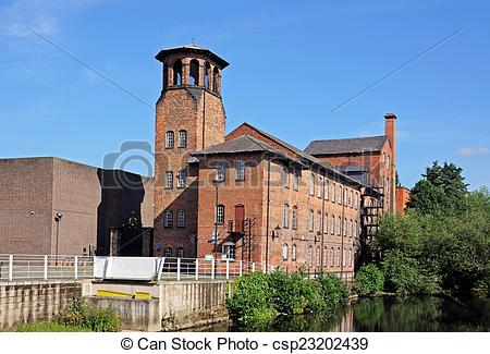 Stock Photos of The Silk Mill, Derby..