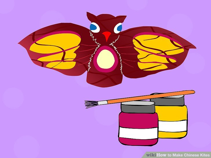 How to Make Chinese Kites: 14 Steps.