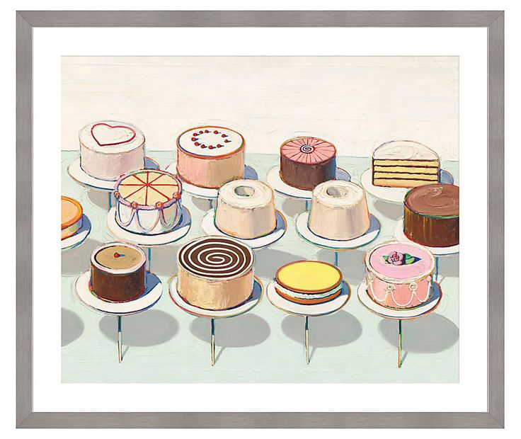 1000+ ideas about Wayne Thiebaud Cakes on Pinterest.