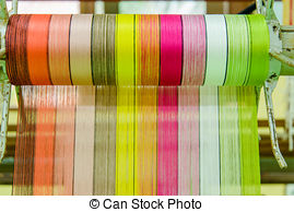 Stock Photography of silk thread in country of asia,Silk.