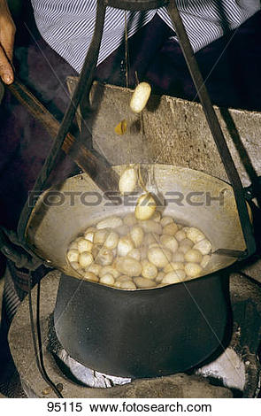Stock Image of Production of silk.