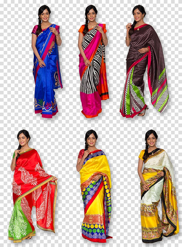 Sari Textile Art silk Cotton, Silk Saree transparent.
