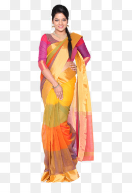 Silk Saree PNG and Silk Saree Transparent Clipart Free Download..