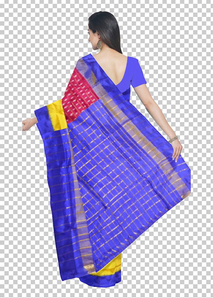 Silk Pochampally Saree Sari Ikat Handloom Saree PNG, Clipart.