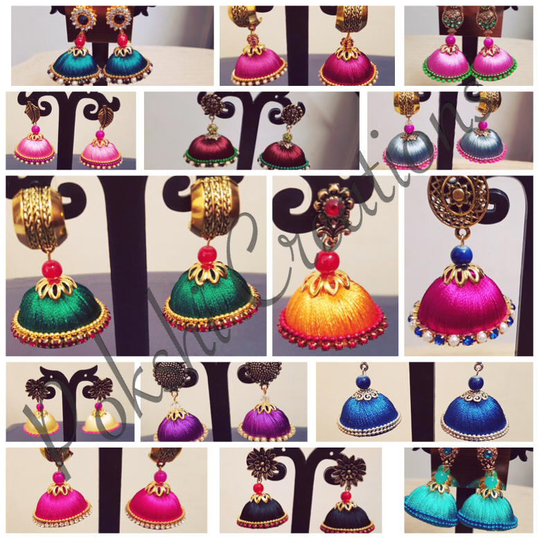 1000+ images about silk thread earrings on Pinterest.