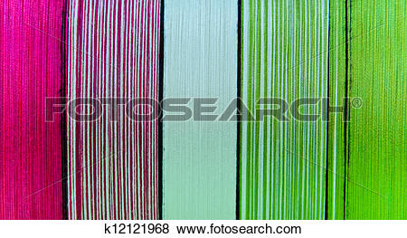 Pictures of Colorful of silk thread k12121968.