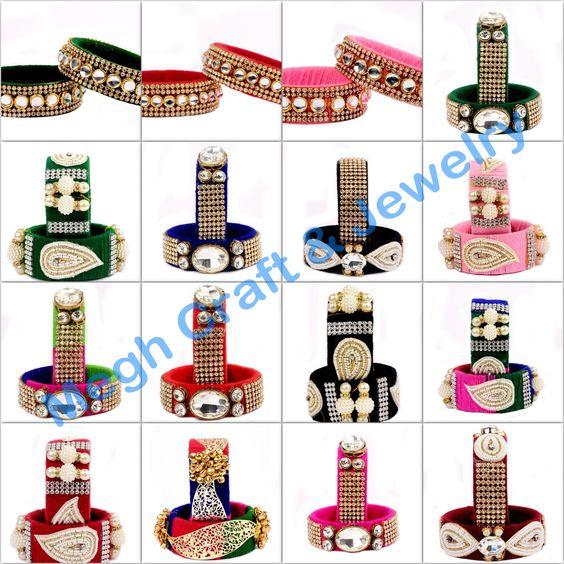 buy girl's silk thread bangles wholesale Indian Thread Bangle.