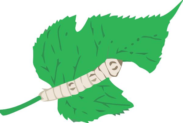 Silkworm Clip Art at Clker.com.