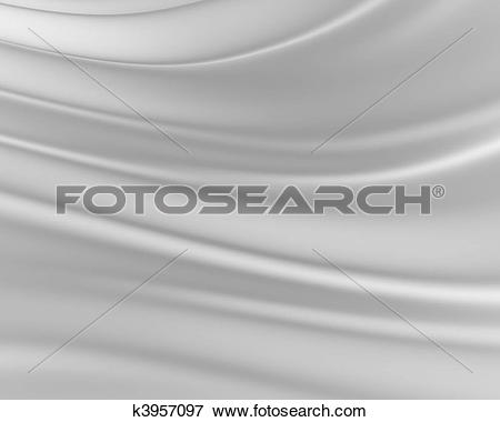 Stock Illustration of Grey silky background k3957097.