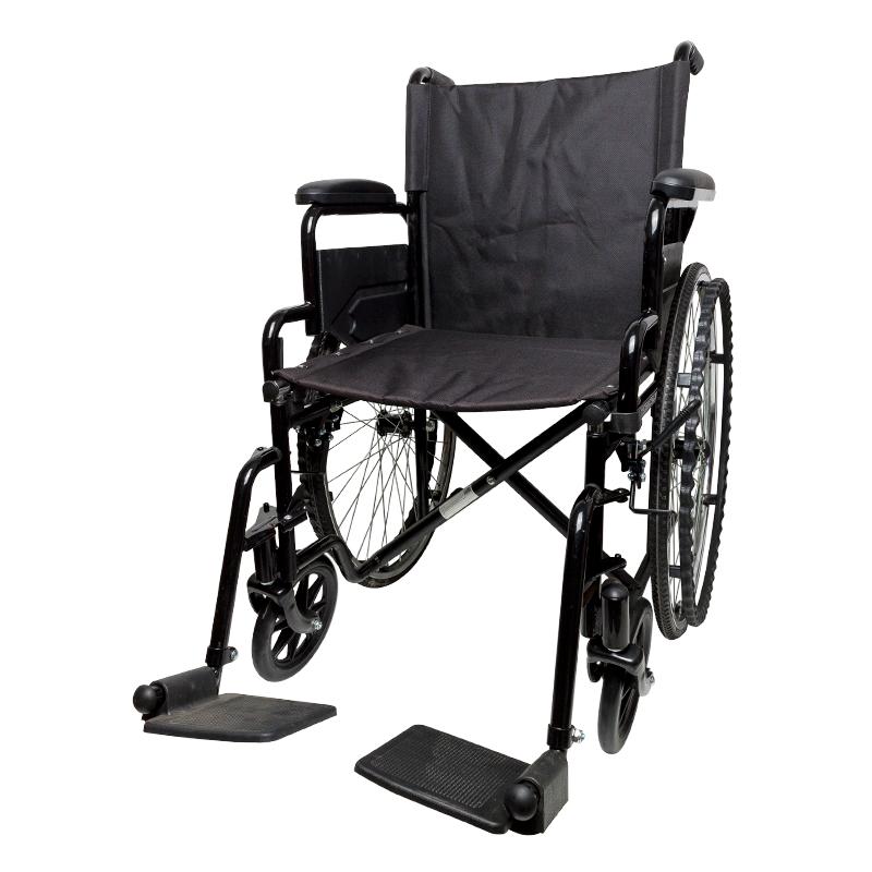 Silla de ruedas plegable y ligera con rueda de 600 mm Ortaid.