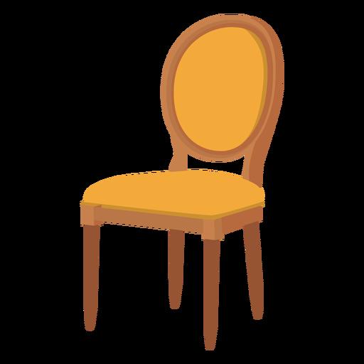 Louis chair cartoon.
