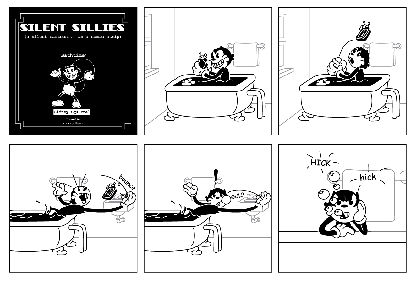 Silent Sillies: March 2012.