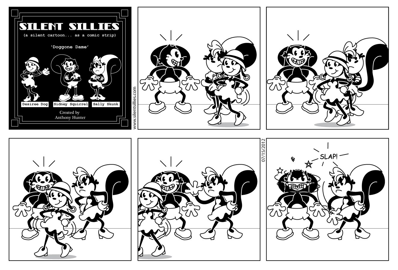 Silent Sillies: July 2012.