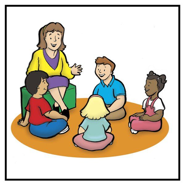 circle time classroom clipart #19