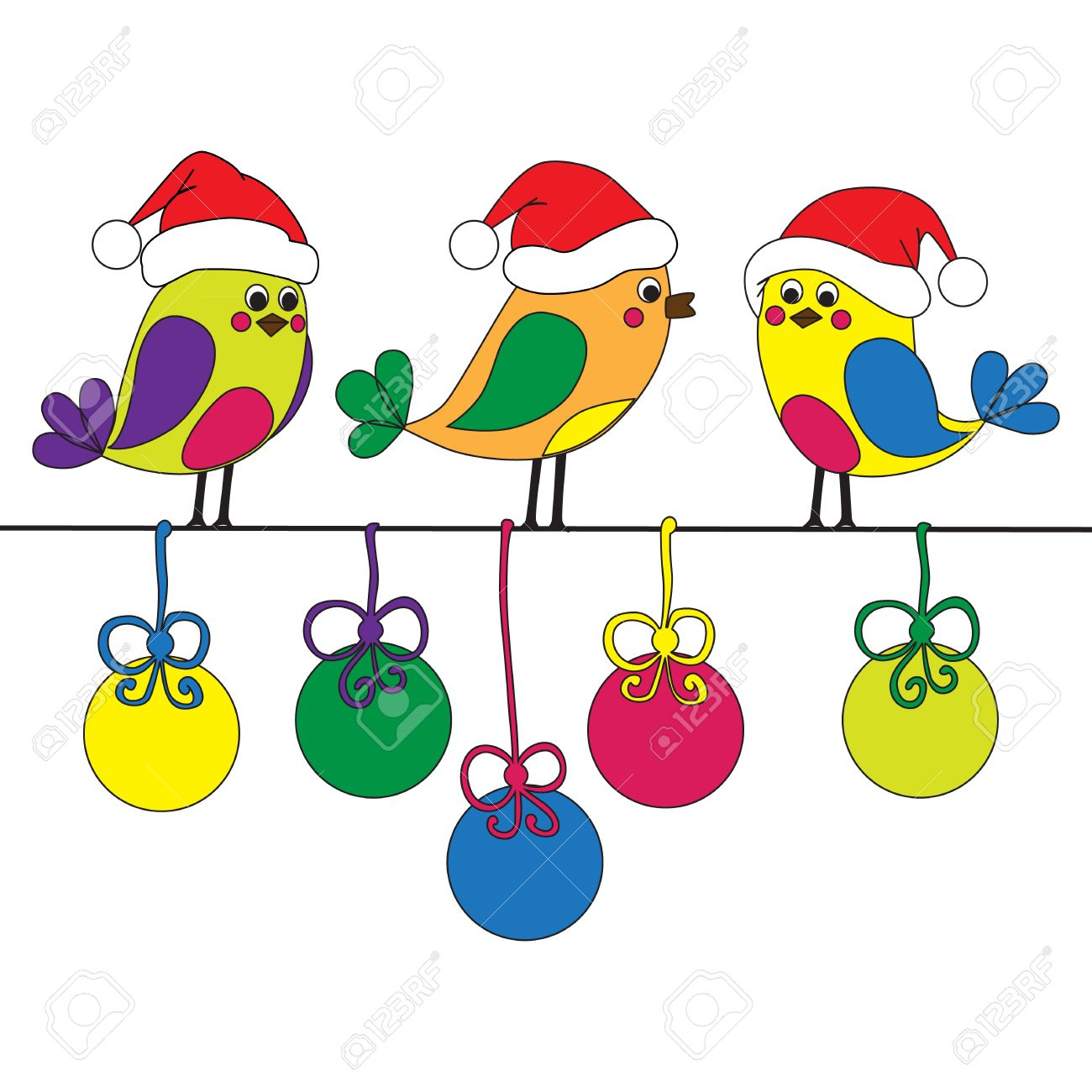 Copyright Free Funny Christmas Clipart.