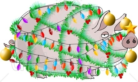 Silly Christmas Clipart.