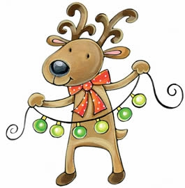 Funny Christmas Pictures Clip Art.