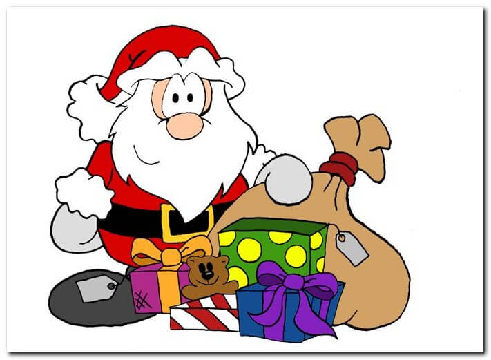 Funny Merry Christmas Images Cartoon Pictures Pics Photos Free.