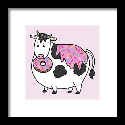 Affordable Silly Cow Art.