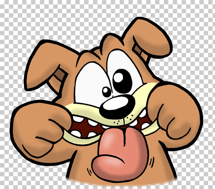 Dog Smiley Cartoon , Silly Tuesday s PNG clipart.
