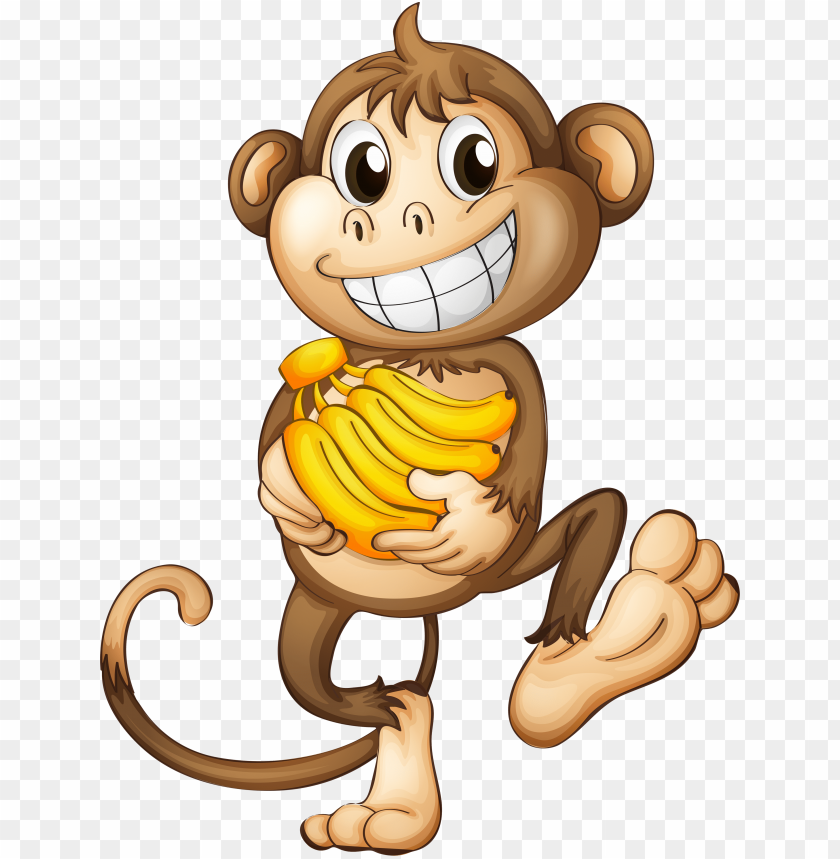 fun clipart funny monkey.