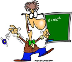 Funny Teacher Clipart.