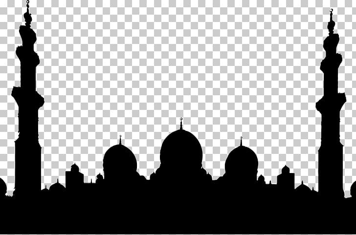 305 mosque Silhouette PNG cliparts for free download.