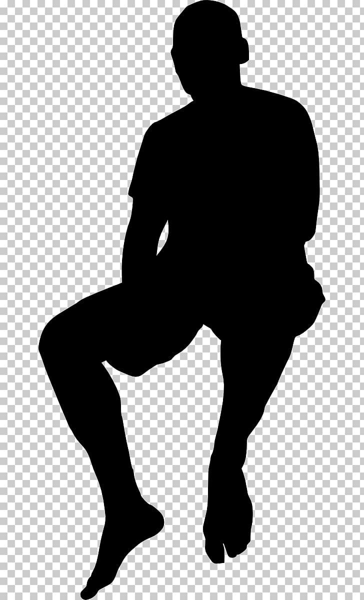 Silueta, siluetas de personas PNG Clipart.