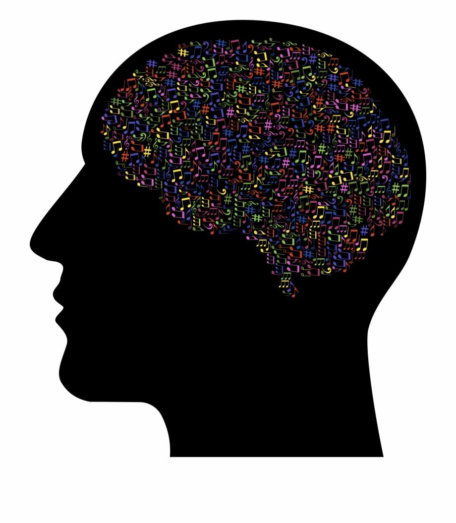 Brain Clipart Music.