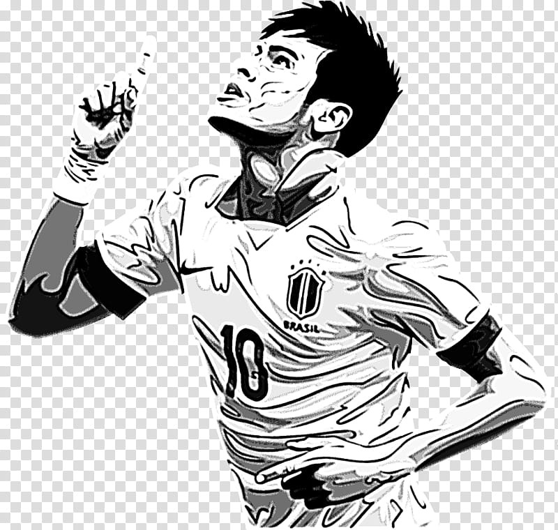 Neymar Da Silva Render V transparent background PNG clipart.