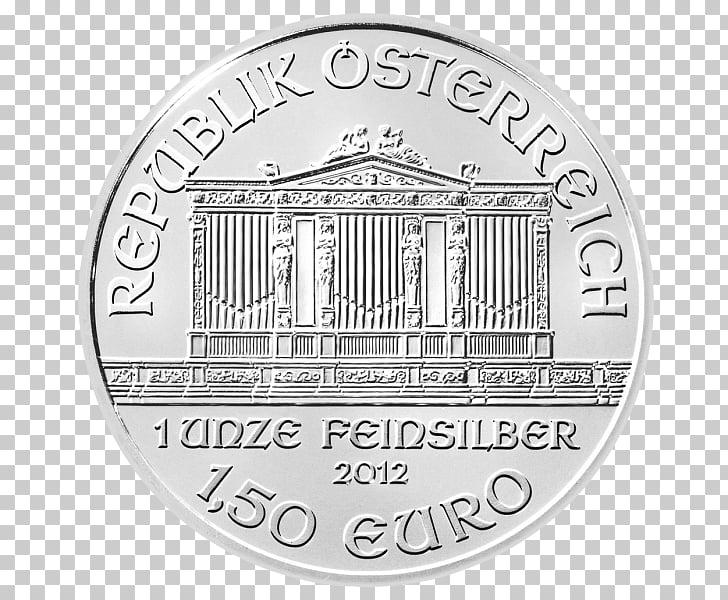 Austrian Silver Vienna Philharmonic Orchestra Platinum coin.