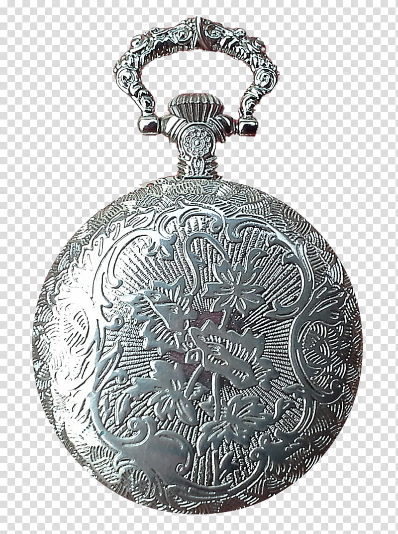 Pocket Watch updated, silver pocket watch transparent.
