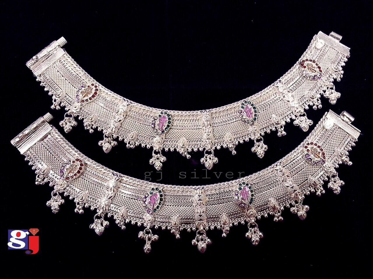 New design silver fancy Payal , wedding silver ornaments.