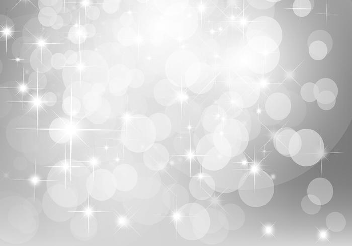 Silver Glitter Background Vector.
