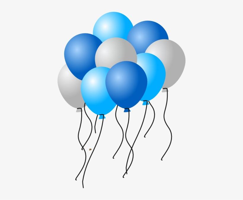 Silver Clipart Ballon.