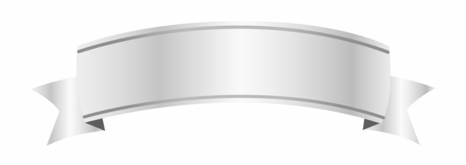 Photo Silver Banner Png Clipart Image.