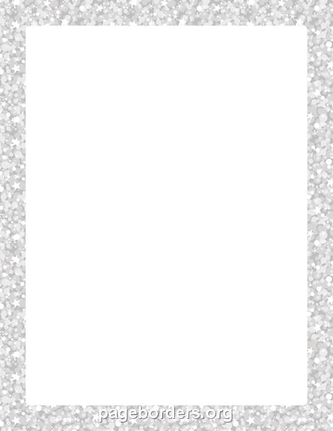 Glitter Clipart Border.