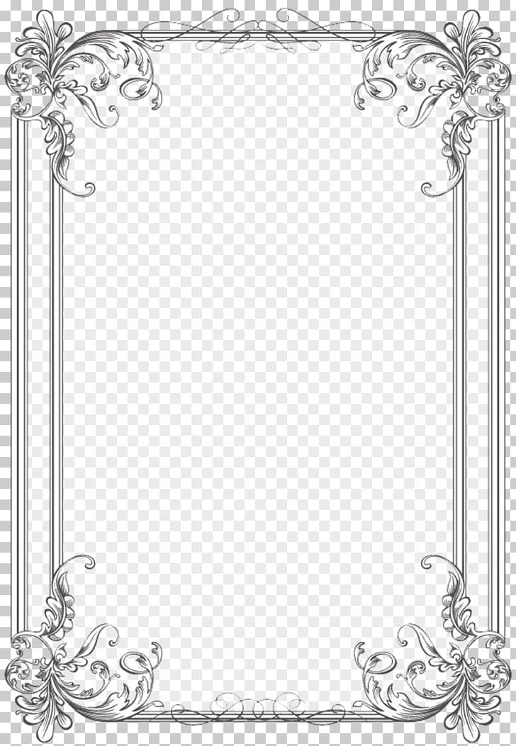 Borders and Frames Wedding invitation Frames Microsoft Word.