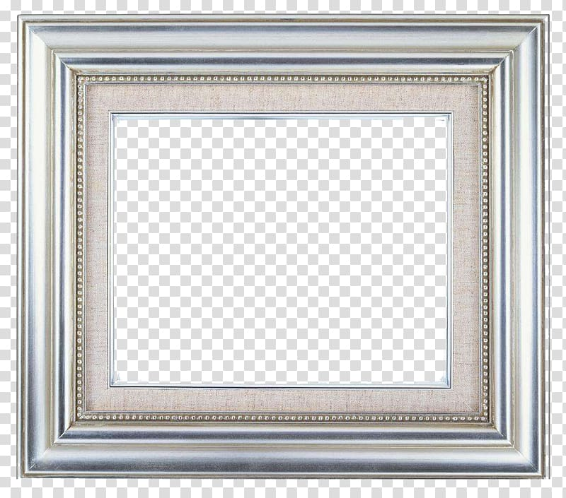 Square gray frame, frame Metal Decorative arts Big, The.