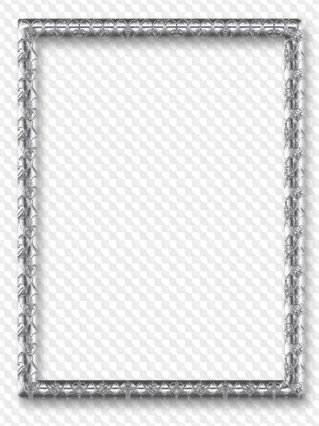 Silver border frames PNG, 66 images.