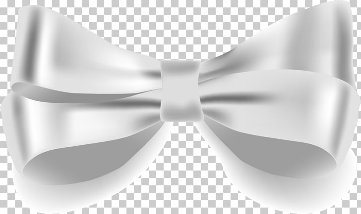 Ribbon Vecteur Computer file, hand painted silver bow PNG.