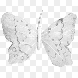 Silver Butterfly, Butterfly Clipart, But #86470.