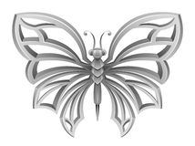 Silver butterfly clipart » Clipart Station.